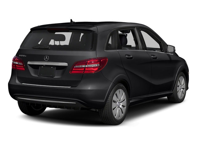 Night Black 2017 Mercedes-Benz B-Class Pictures B-Class B 250e Hatchback photos rear view