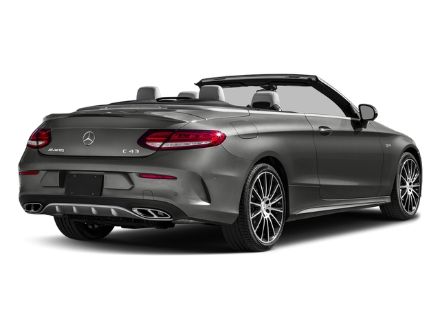 designo Selenite Grey Magno (Matte Finish) 2017 Mercedes-Benz C-Class Pictures C-Class AMG C 43 4MATIC Cabriolet photos rear view