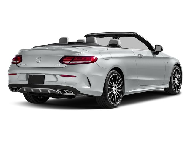 Iridium Silver Metallic 2017 Mercedes-Benz C-Class Pictures C-Class AMG C 43 4MATIC Cabriolet photos rear view