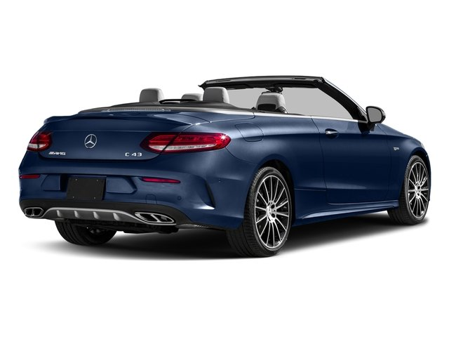 Brilliant Blue Metallic 2017 Mercedes-Benz C-Class Pictures C-Class AMG C 43 4MATIC Cabriolet photos rear view