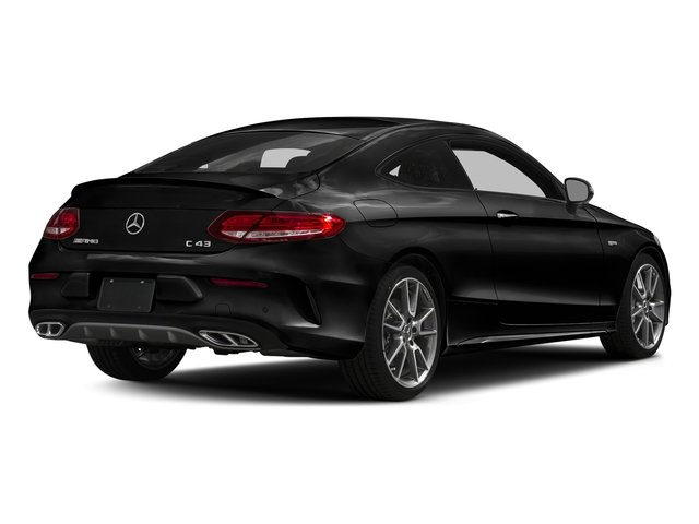 Obsidian Black Metallic 2017 Mercedes-Benz C-Class Pictures C-Class AMG C 43 4MATIC Coupe photos rear view