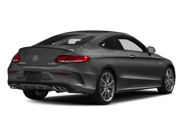 Selenite Grey Metallic 2017 Mercedes-Benz C-Class Pictures C-Class Coupe 2D C43 AMG AWD V6 Turbo photos rear view