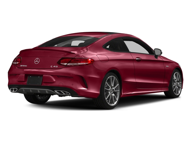 designo Cardinal Red Metallic 2017 Mercedes-Benz C-Class Pictures C-Class Coupe 2D C43 AMG AWD V6 Turbo photos rear view