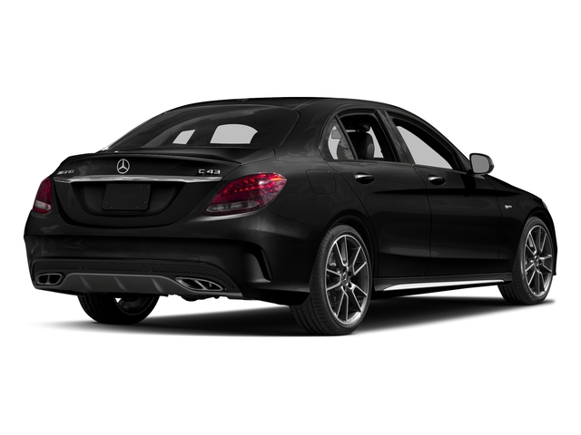 Obsidian Black Metallic 2017 Mercedes-Benz C-Class Pictures C-Class Sedan 4D C43 AMG AWD V6 Turbo photos rear view