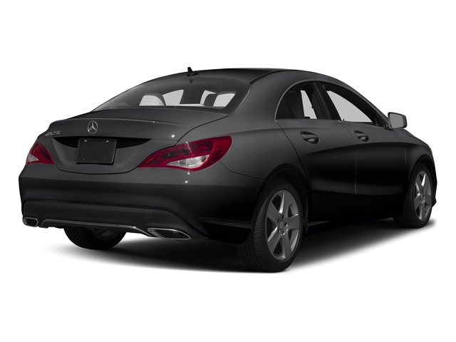 Night Black 2017 Mercedes-Benz CLA Pictures CLA Sedan 4D CLA250 I4 Turbo photos rear view