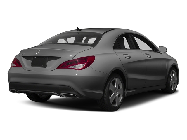 Mountain Grey Metallic 2017 Mercedes-Benz CLA Pictures CLA Sedan 4D CLA250 I4 Turbo photos rear view