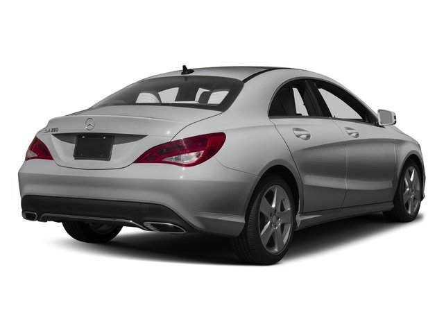 designo Magno Polar Silver (Matte Finish) 2017 Mercedes-Benz CLA Pictures CLA Sedan 4D CLA250 I4 Turbo photos rear view