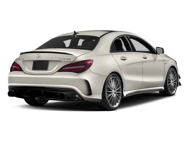 Cirrus White 2017 Mercedes-Benz CLA Pictures CLA Sedan 4D CLA45 AMG AWD I4 Turbo photos rear view
