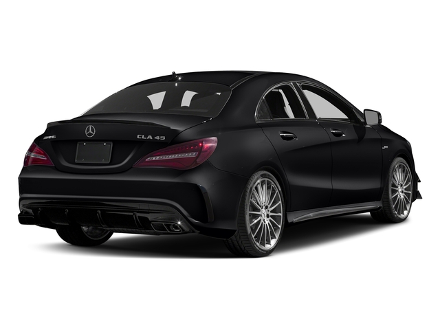 Night Black 2017 Mercedes-Benz CLA Pictures CLA Sedan 4D CLA45 AMG AWD I4 Turbo photos rear view