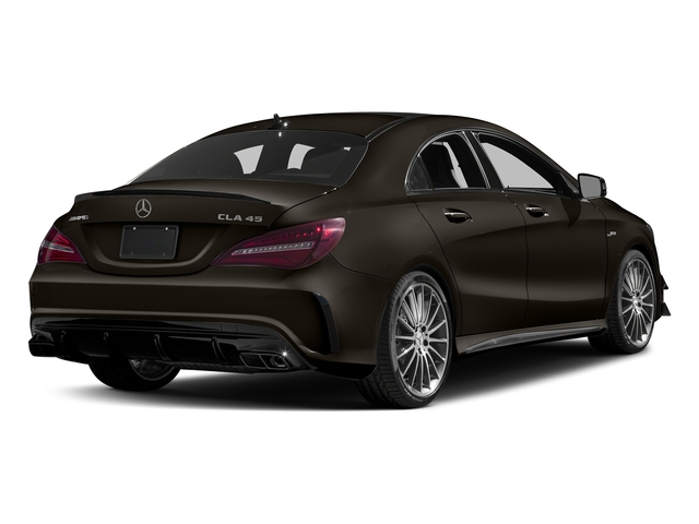 Cocoa Brown Metallic 2017 Mercedes-Benz CLA Pictures CLA Sedan 4D CLA45 AMG AWD I4 Turbo photos rear view