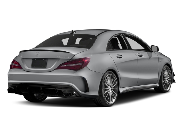 designo Magno Polar Silver (Matte Finish) 2017 Mercedes-Benz CLA Pictures CLA Sedan 4D CLA45 AMG AWD I4 Turbo photos rear view