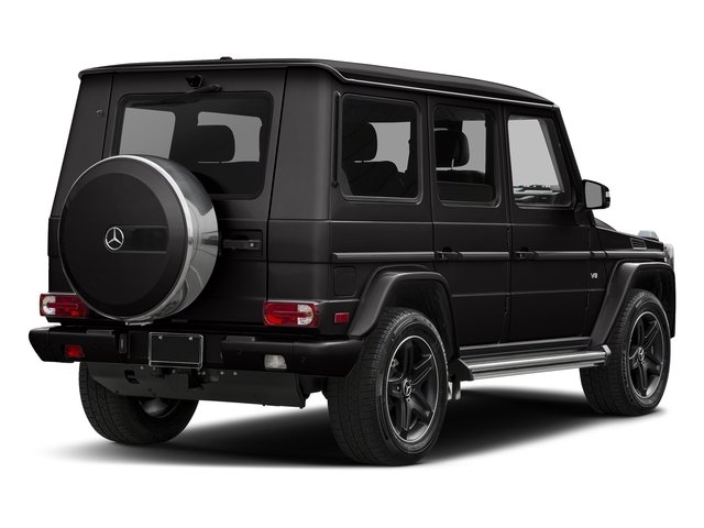 designo Platinum Black 2017 Mercedes-Benz G-Class Pictures G-Class 4 Door Utility 4Matic photos rear view