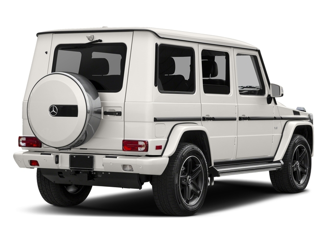designo Mystic White Metallic 2017 Mercedes-Benz G-Class Pictures G-Class 4 Door Utility 4Matic photos rear view