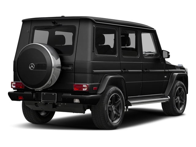 Obsidian Black Metallic 2017 Mercedes-Benz G-Class Pictures G-Class 4 Door Utility 4Matic photos rear view