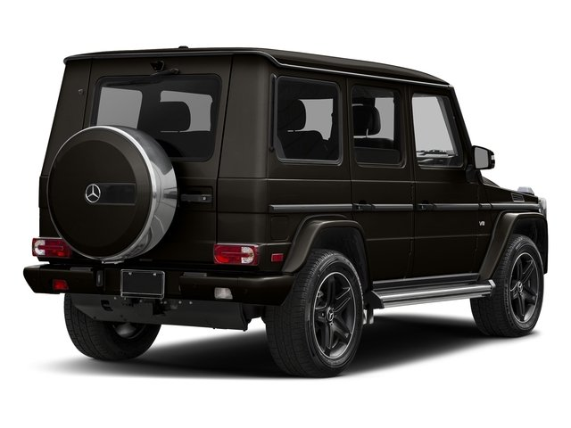 Verde Brook Metallic 2017 Mercedes-Benz G-Class Pictures G-Class 4 Door Utility 4Matic photos rear view
