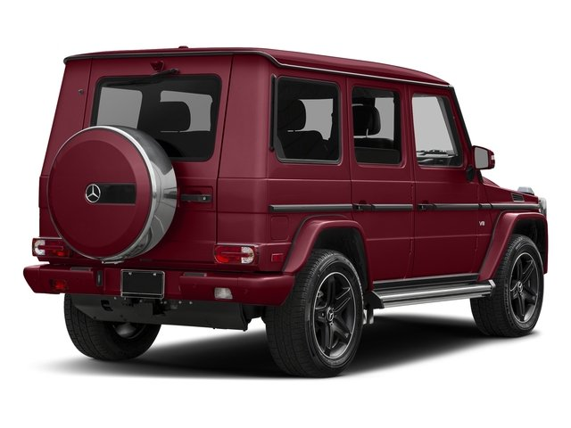 Paprika Metallic 2017 Mercedes-Benz G-Class Pictures G-Class 4 Door Utility 4Matic photos rear view