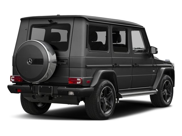 Steel Grey Metallic 2017 Mercedes-Benz G-Class Pictures G-Class 4 Door Utility 4Matic photos rear view