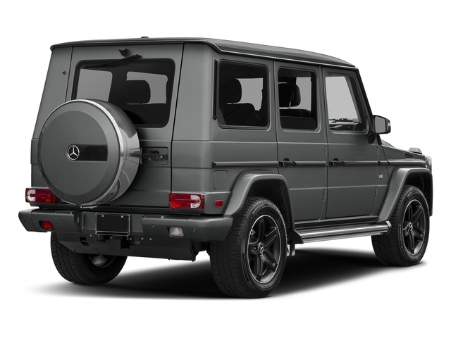 Palladium Silver Metallic 2017 Mercedes-Benz G-Class Pictures G-Class 4 Door Utility 4Matic photos rear view