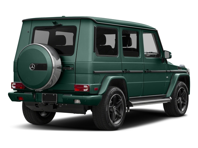 Agate Green 2017 Mercedes-Benz G-Class Pictures G-Class 4 Door Utility 4Matic photos rear view