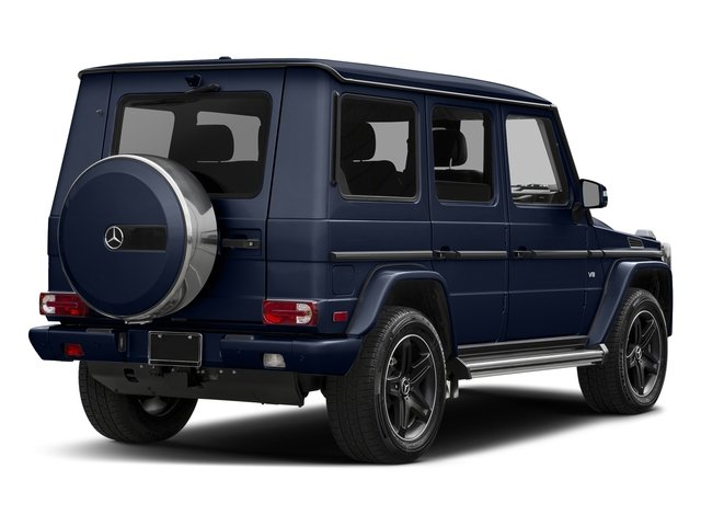 Midnight Blue 2017 Mercedes-Benz G-Class Pictures G-Class 4 Door Utility 4Matic photos rear view