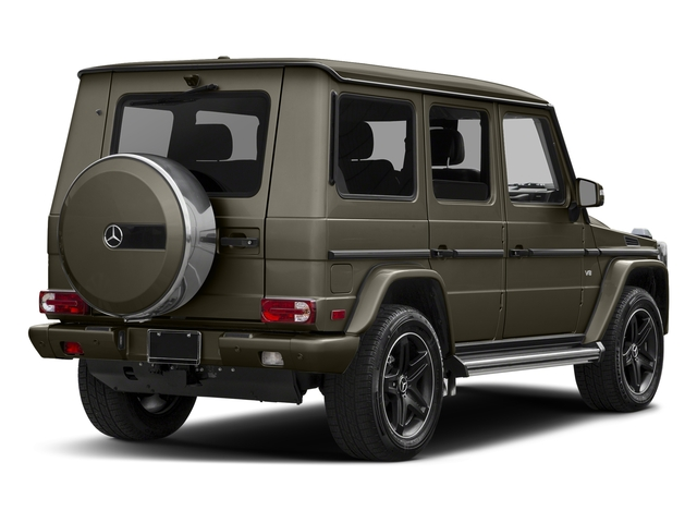 Indium Grey Metallic 2017 Mercedes-Benz G-Class Pictures G-Class 4 Door Utility 4Matic photos rear view