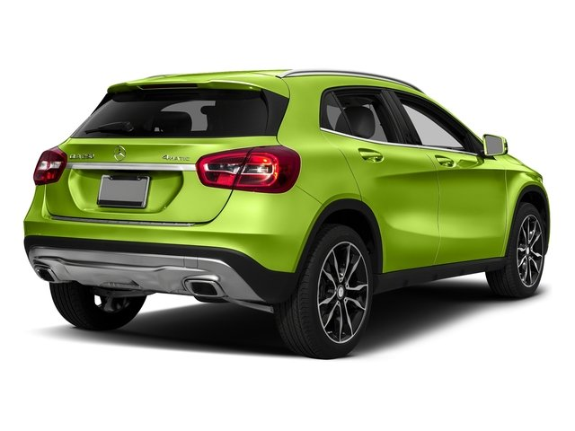 Kryptonite Green Metallic 2017 Mercedes-Benz GLA Pictures GLA GLA 250 4MATIC SUV photos rear view