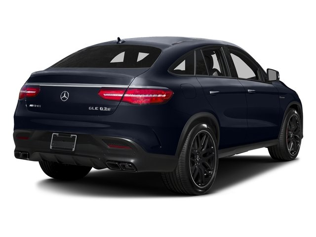 Lunar Blue Metallic 2017 Mercedes-Benz GLE Pictures GLE AMG GLE 63 S 4MATIC Coupe photos rear view