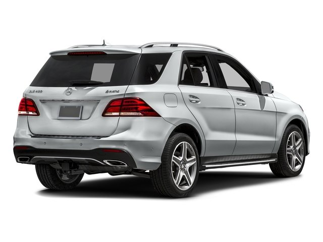 Iridium Silver Metallic 2017 Mercedes-Benz GLE Pictures GLE GLE 400 4MATIC SUV photos rear view
