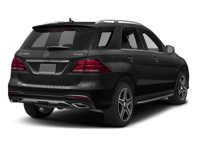 Black 2017 Mercedes-Benz GLE Pictures GLE Utility 4D GLE550 Plug-In AWD V6 photos rear view