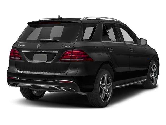 Obsidian Black Metallic 2017 Mercedes-Benz GLE Pictures GLE Utility 4D GLE550 Plug-In AWD V6 photos rear view