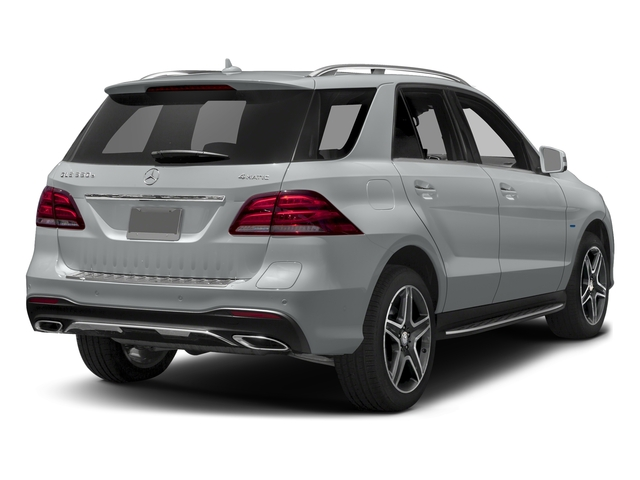 Iridium Silver Metallic 2017 Mercedes-Benz GLE Pictures GLE Utility 4D GLE550 Plug-In AWD V6 photos rear view