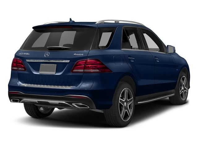 Brilliant Blue Metallic 2017 Mercedes-Benz GLE Pictures GLE Utility 4D GLE550 Plug-In AWD V6 photos rear view