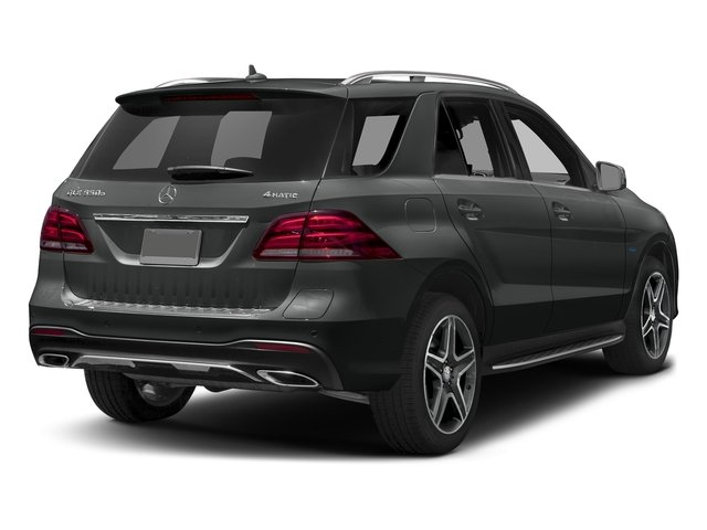 Selenite Grey Metallic 2017 Mercedes-Benz GLE Pictures GLE Utility 4D GLE550 Plug-In AWD V6 photos rear view