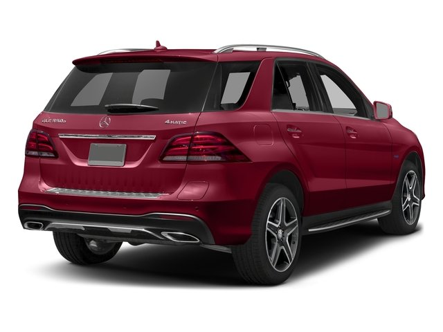 designo Cardinal Red Metallic 2017 Mercedes-Benz GLE Pictures GLE Utility 4D GLE550 Plug-In AWD V6 photos rear view