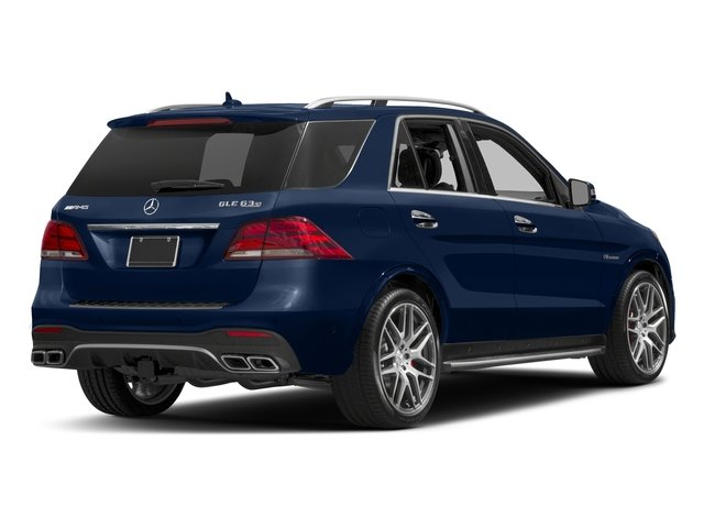 Brilliant Blue Metallic 2017 Mercedes-Benz GLE Pictures GLE AMG GLE 63 4MATIC SUV photos rear view
