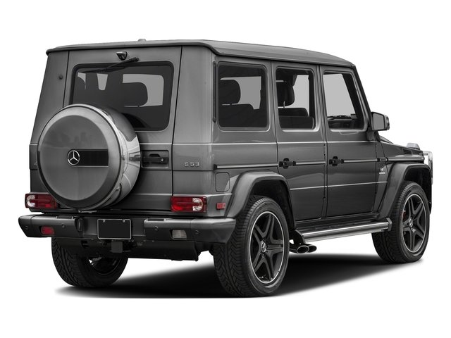designo Graphite 2017 Mercedes-Benz G-Class Pictures G-Class AMG G 63 4MATIC SUV photos rear view