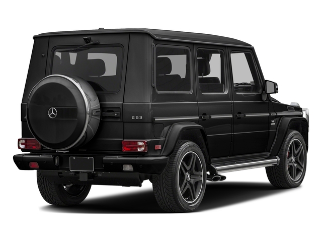 Obsidian Black Metallic 2017 Mercedes-Benz G-Class Pictures G-Class AMG G 63 4MATIC SUV photos rear view
