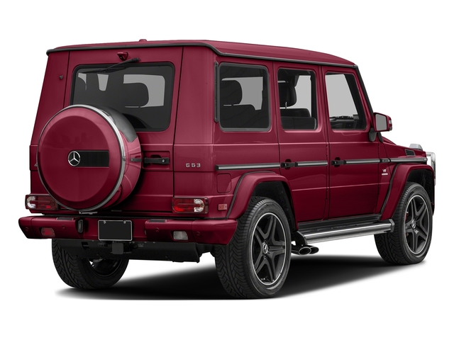 Storm Red Metallic 2017 Mercedes-Benz G-Class Pictures G-Class AMG G 63 4MATIC SUV photos rear view