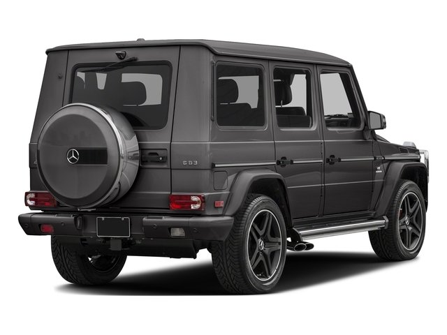 Tectite Grey Metallic 2017 Mercedes-Benz G-Class Pictures G-Class AMG G 63 4MATIC SUV photos rear view