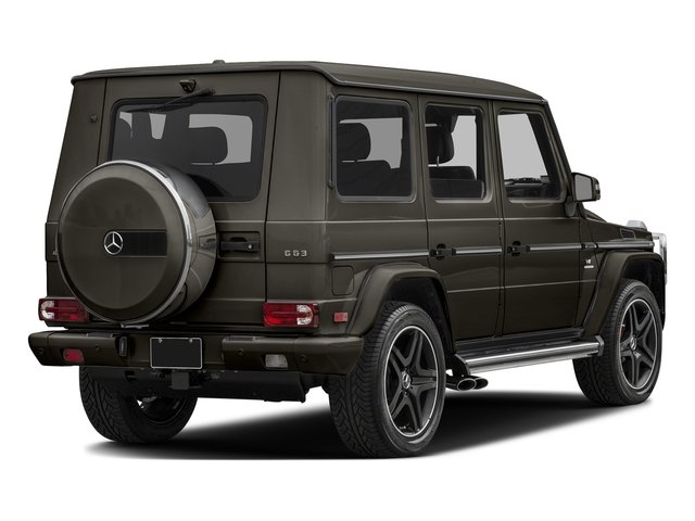designo Sintered Bronze Magno (Matte Finish) 2017 Mercedes-Benz G-Class Pictures G-Class AMG G 63 4MATIC SUV photos rear view