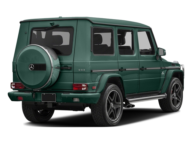 Agate Green 2017 Mercedes-Benz G-Class Pictures G-Class AMG G 63 4MATIC SUV photos rear view
