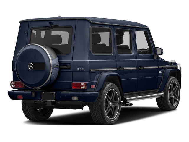 Midnight Blue 2017 Mercedes-Benz G-Class Pictures G-Class AMG G 63 4MATIC SUV photos rear view