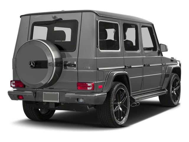 designo Monza Grey Magno (Matte Finish) 2017 Mercedes-Benz G-Class Pictures G-Class 4 Door Utility 4Matic photos rear view