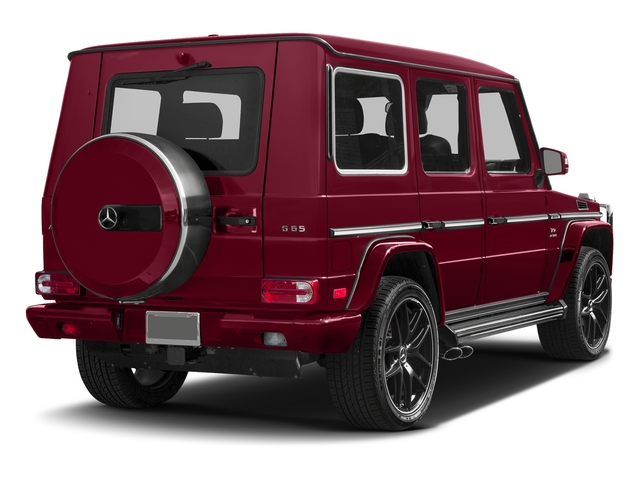 Storm Red Metallic 2017 Mercedes-Benz G-Class Pictures G-Class AMG G 65 4MATIC SUV photos rear view