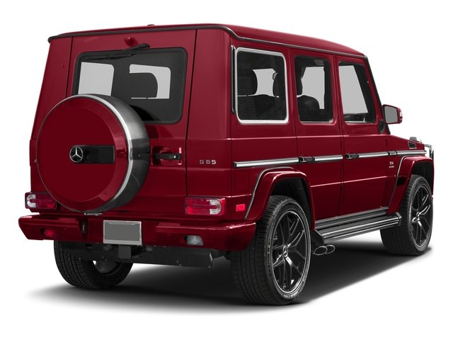 Mars Red 2017 Mercedes-Benz G-Class Pictures G-Class 4 Door Utility 4Matic photos rear view