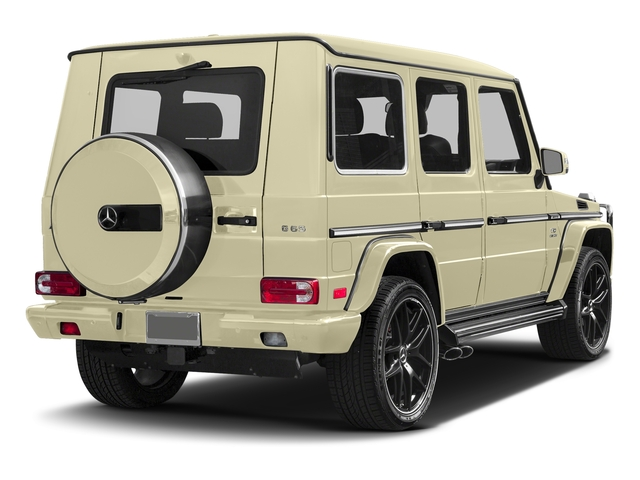 Light Ivory 2017 Mercedes-Benz G-Class Pictures G-Class AMG G 65 4MATIC SUV photos rear view
