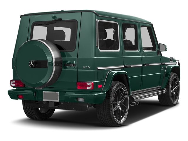 Agate Green 2017 Mercedes-Benz G-Class Pictures G-Class AMG G 65 4MATIC SUV photos rear view