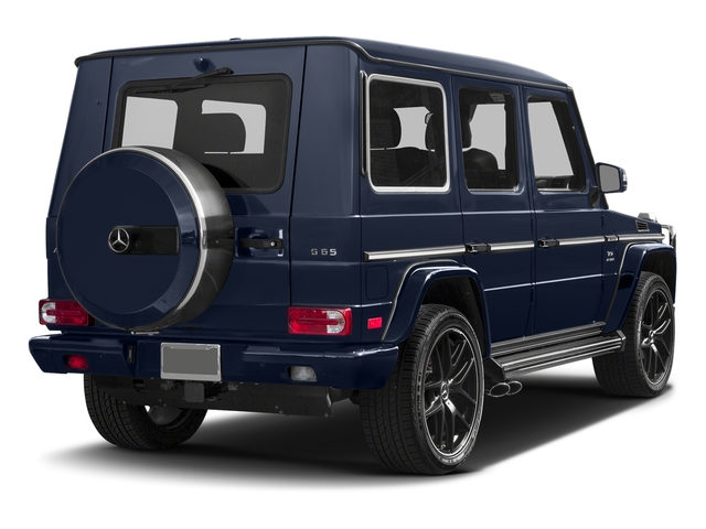Midnight Blue 2017 Mercedes-Benz G-Class Pictures G-Class AMG G 65 4MATIC SUV photos rear view