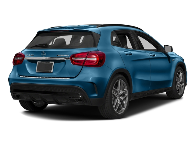 South Seas Blue Metallic 2017 Mercedes-Benz GLA Pictures GLA Utility 4D GLA45 AMG AWD I4 Turbo photos rear view