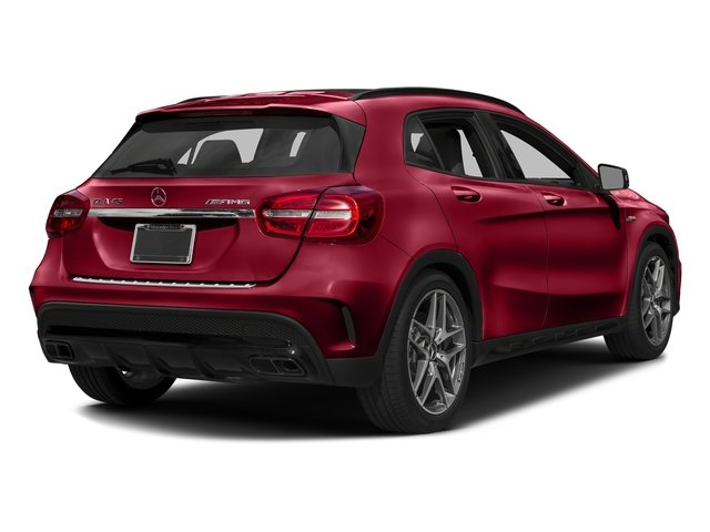 Jupiter Red 2017 Mercedes-Benz GLA Pictures GLA AMG GLA 45 4MATIC SUV photos rear view